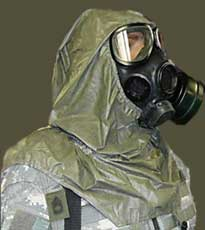 Quick Doff Hood for M40, other Gas Masks