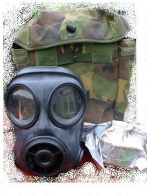British Army S10 Gas Mask