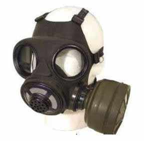 Canadian C3 Gas Mask - 40mm Filter